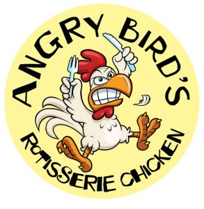 We are excited to introduce our newest Season 9 Sponsor - Angry Bird's Rotisserie Chicken!