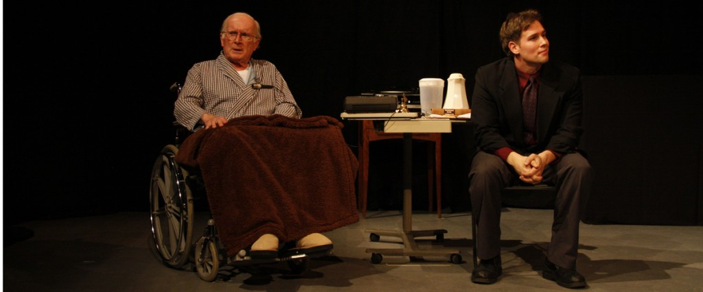 David Smith and Michael Zaffino in Tuesdays with Morrie